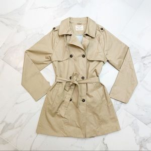 Zara Collection Girl Trench Coat